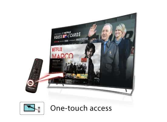 One-touch access