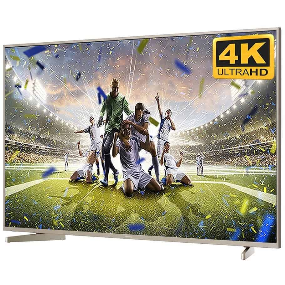 HISENSE 58-Inch 4K Ultra HD Smart TV with built-in TNT & Wi-Fi - N5000